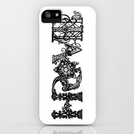 Henry VIII Royal Initials  iPhone Case