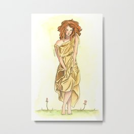 The Maiden Metal Print