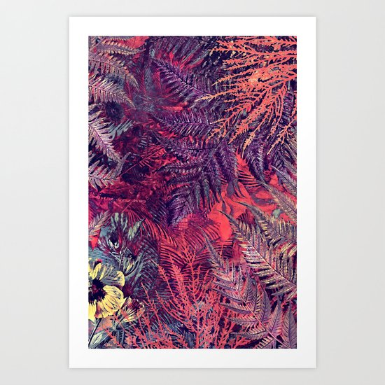 flowers 16 Art Print