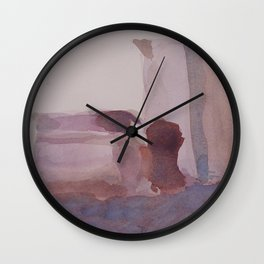 Monochrome Still Life Wall Clock