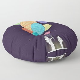Space Gift Floor Pillow
