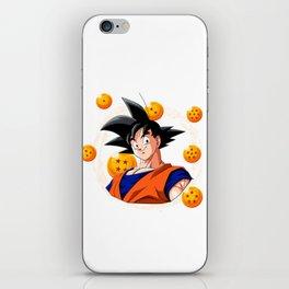 Goku Dragon Ball Super balls symbol iPhone Skin