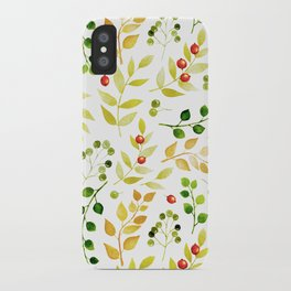 Branches and Leaves 2 iPhone Case