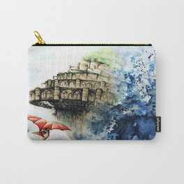 """The castle in the sky"" Carry-All Pouch"