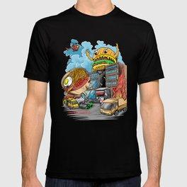 ramen vs hamburger T-shirt