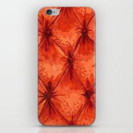Orange Velvet iPhone Skin