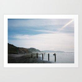 Ocean beach, San Francisco Art Print