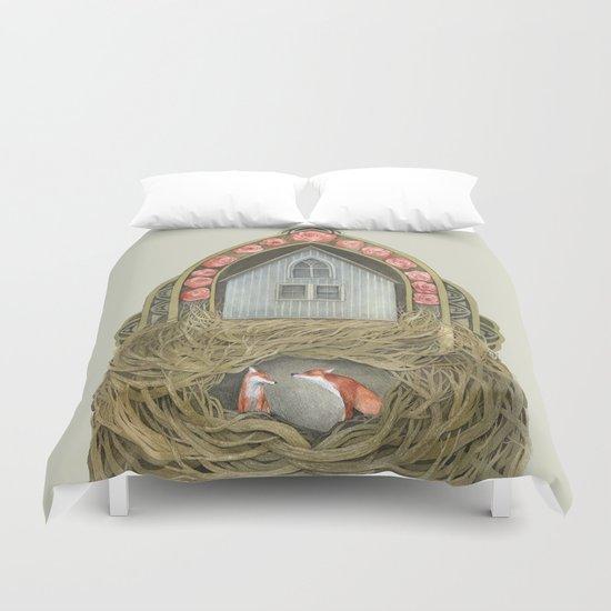 Sweet Home II // Polanshek Duvet Cover
