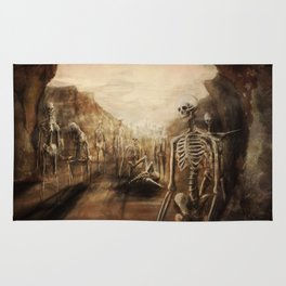You See Bones Rug