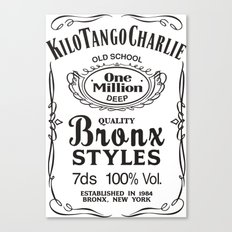 Kilo Tango Charlie Canvas Print