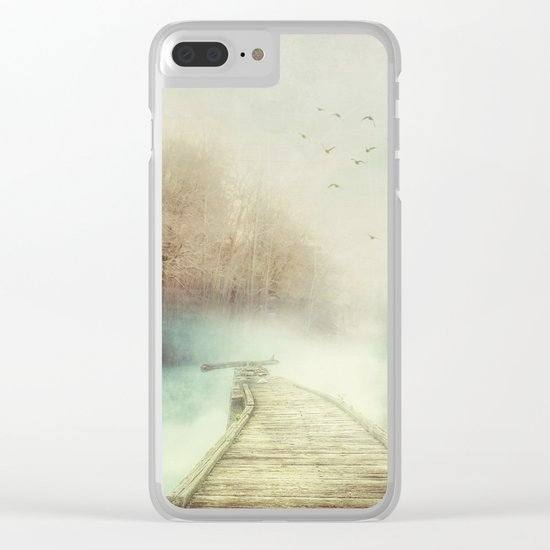 Where to? Clear iPhone Case