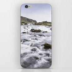 Iceland Waterfall iPhone & iPod Skin