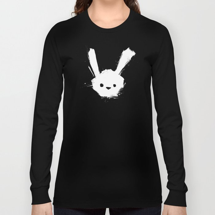 minima - splatter rabbit  Long Sleeve T-shirt
