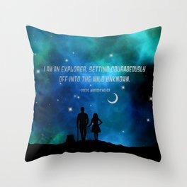 Cress and thorne Throw Pillow
