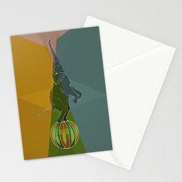 Balancing Elephant Act Stationery Cards