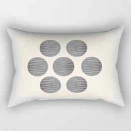 Symmetrical Sand Creature Rectangular Pillow