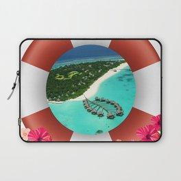 Maldives Getaway Laptop Sleeve