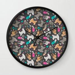 Nekkies + Puffs Wall Clock