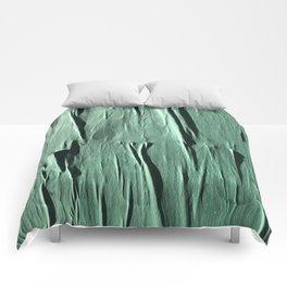 NYC Walls (zelen v.2) Comforters