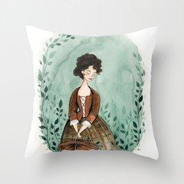 Outlander Claire Fraser Throw Pillow