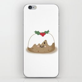 Christmas Pudding iPhone Skin