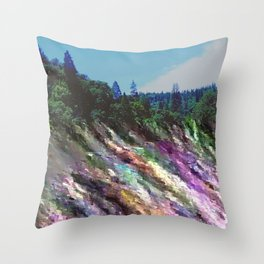 Happily Stranded Throw Pillow