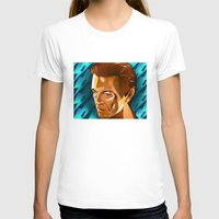 david bowie T-shirts featuring Bowie  by Beth Gatza