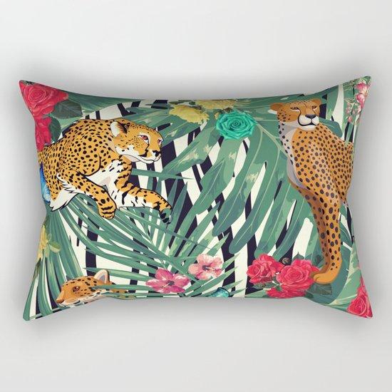 tropical wild  Rectangular Pillow