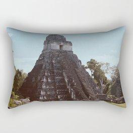 Mayan Pyramid Rectangular Pillow