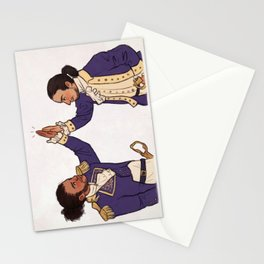 Immigrants - we get the job done Stationery Cards