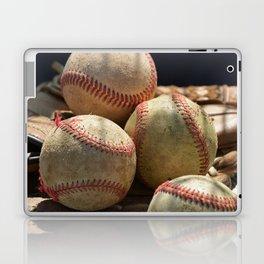 Baseballs and Glove Laptop & iPad Skin