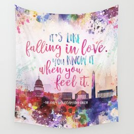 The Lovely Reckless - Like Falling in Love Wall Tapestry