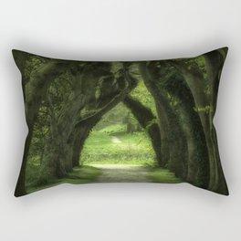 Dark Woods Rectangular Pillow