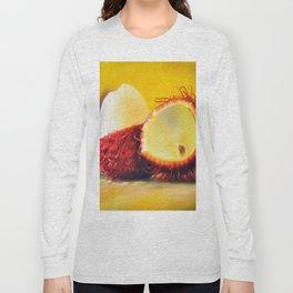TROPICAL FRUIT-RAMBUTAN Long Sleeve T-shirt