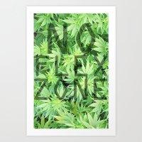No Flex Zone Art Print