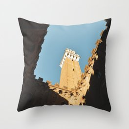 Contrasts in Siena Throw Pillow