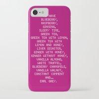 scott pilgrim iPhone & iPod Cases featuring Scott Pilgrim vs. The World - Ramona by MacGuffin Designs