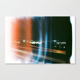 Light Leaks on Long Exposure Canvas Print
