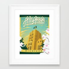 Ann Arbor Union Framed Art Print