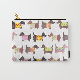 Scottish Terrier Pattern Carry-All Pouch