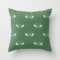 tennis Throw Pillows featuring Tennis by S. Vaeth