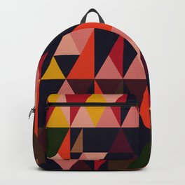 Vintage vibes_in warm hues Backpack