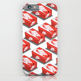Shoe Box Pattern Hypebeast iPhone Case