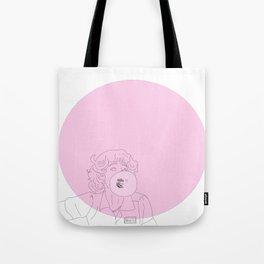 Frenchy Bubblegum Tote Bag