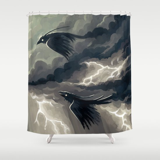 Stormbringers Shower Curtain