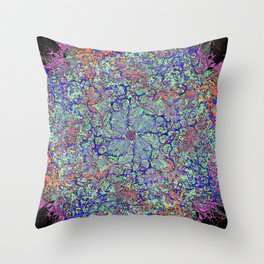 Motivation Abstract Throw Pillow