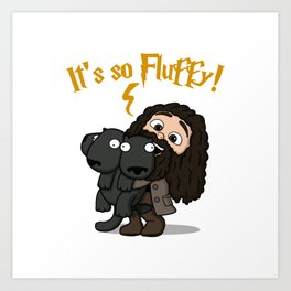 It's So Fluffy Art Print