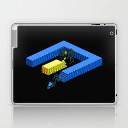 Tron Wall Laptop & iPad Skin