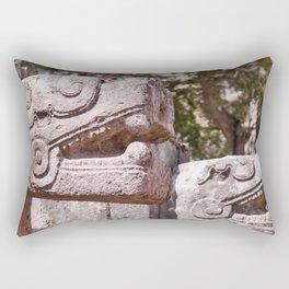 Chichen-Itza Jaguars Rectangular Pillow