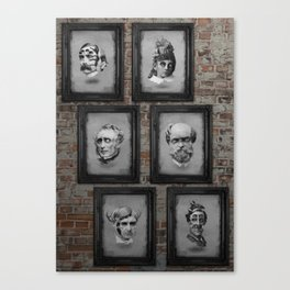 Floating Freaks Canvas Print